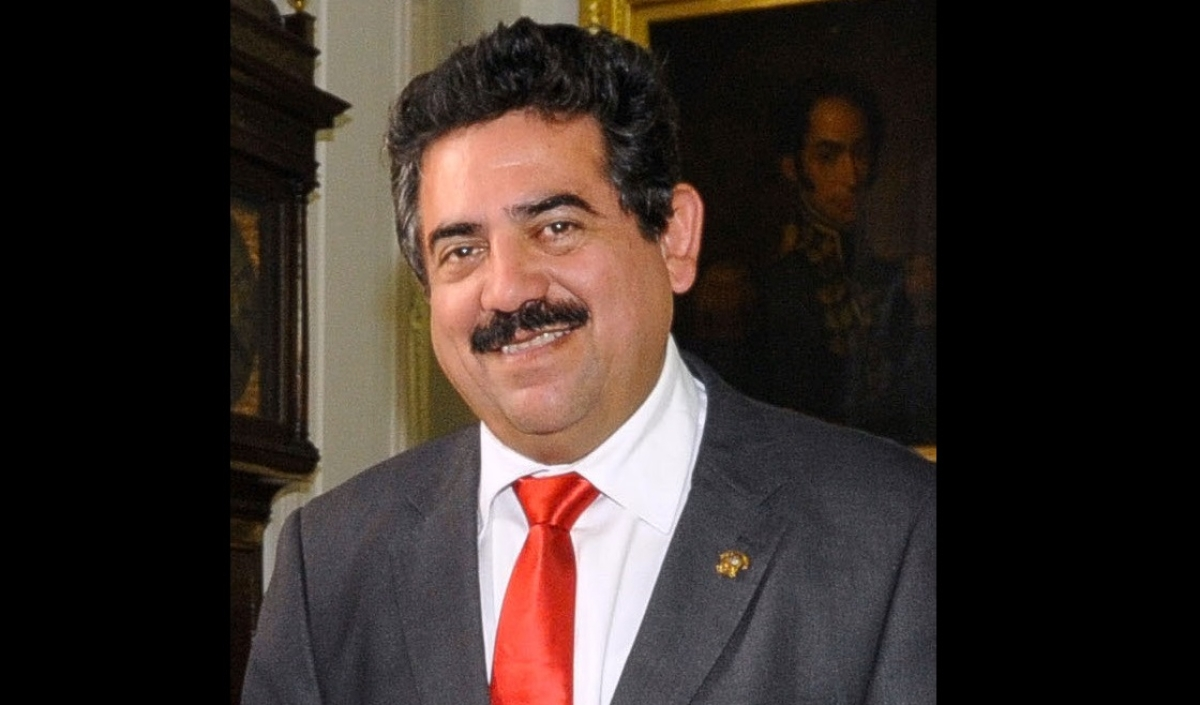 Former Acting President Manuel Merino