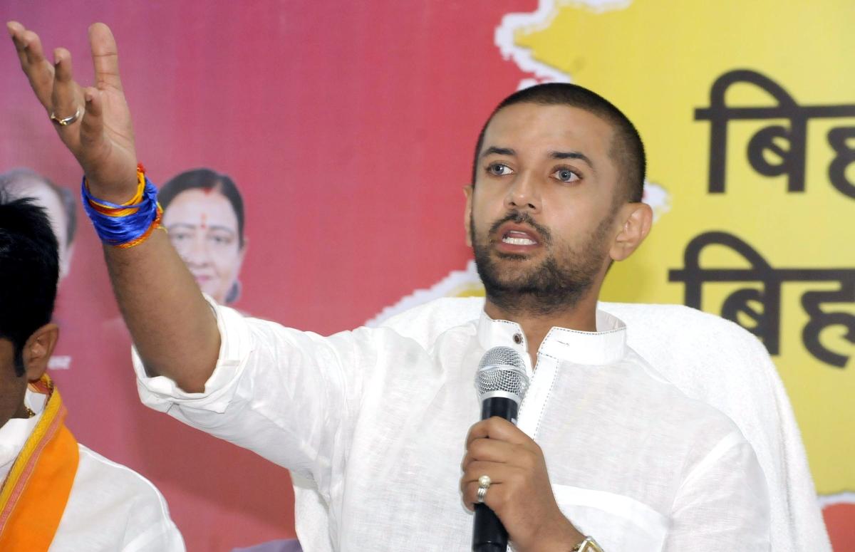 Lok Janshakti Party president Chirag Paswan