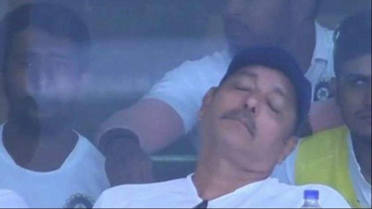 'Gajab beijjati': Fans troll Ravi Shastri after India gets bundled out for 36 in 1st Test against Australia