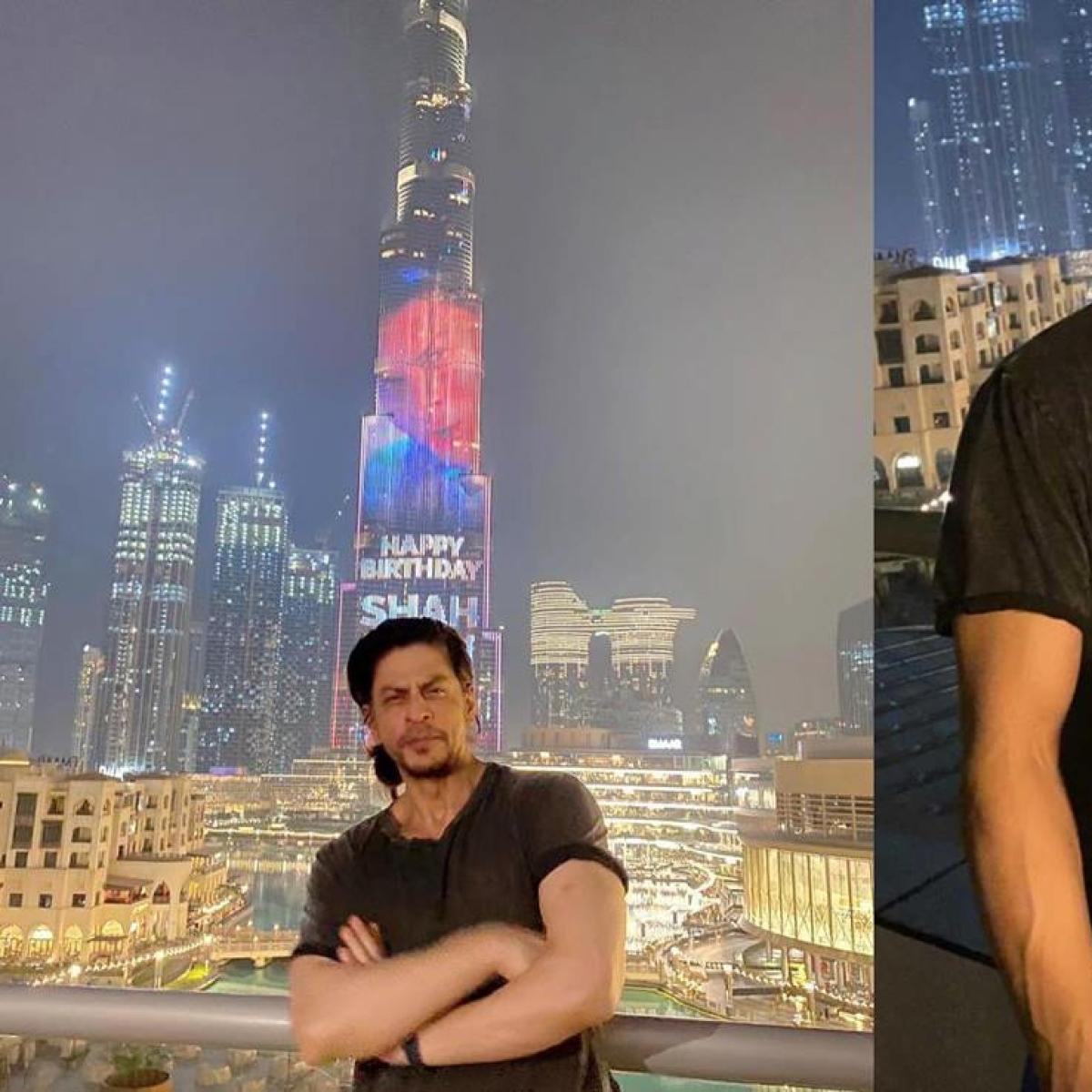 Watch Video: Burj Khalifa pays special tribute to Shah Rukh Khan on his 55th birthday