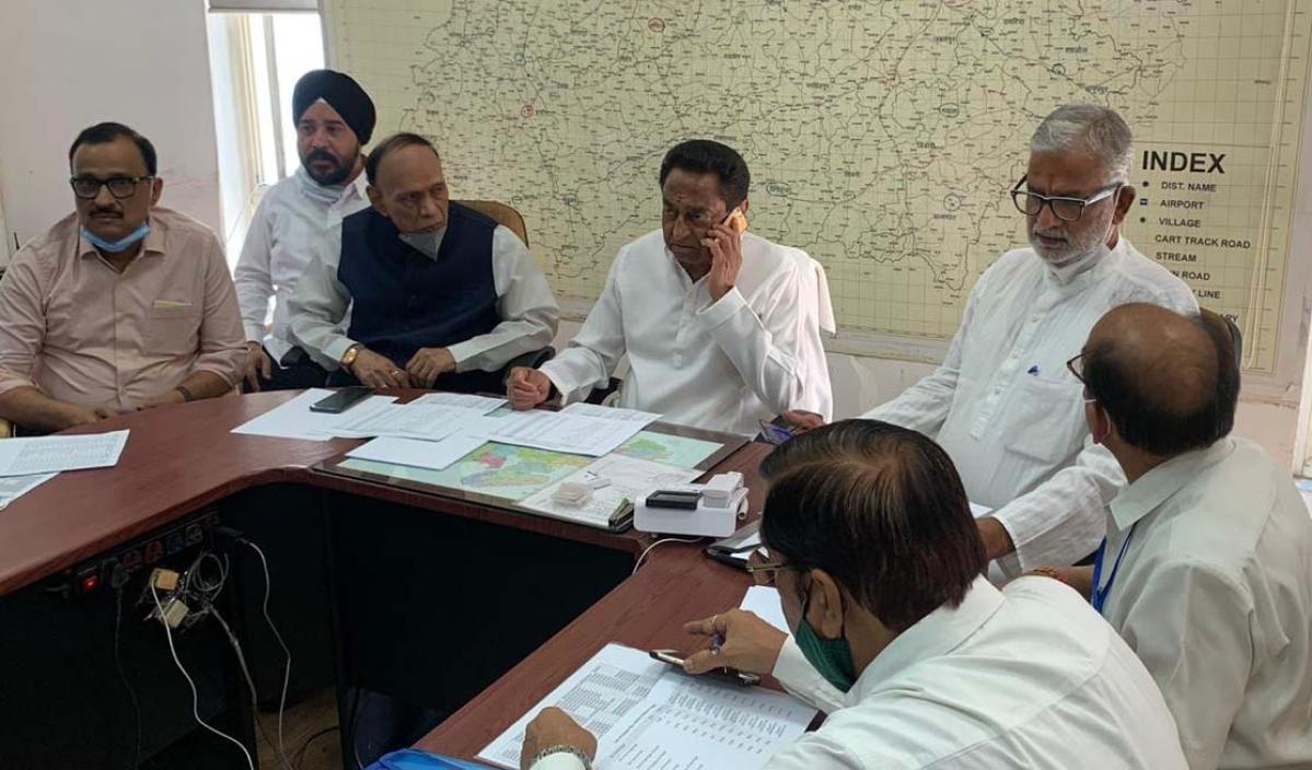 Madhya Pradesh: Post results, blame game will ensue between Jyotiraditya Scindia and BJP, predicts Kamal Nath