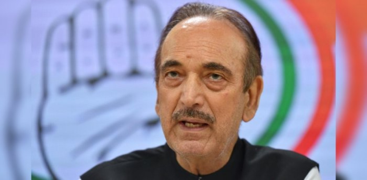 Ghulam Nabi Azad to head Congress task force on COVID-19