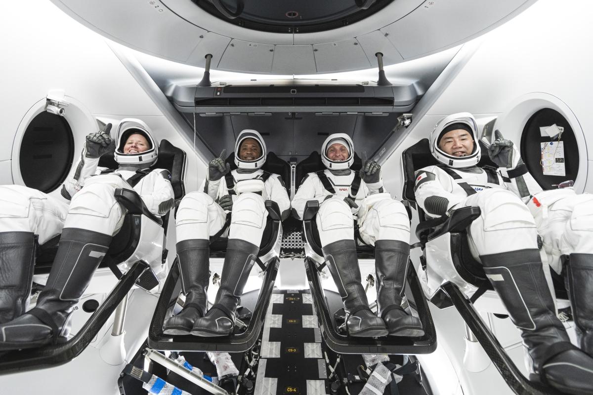 NASA SpaceX Crew-1 launch tomorrow