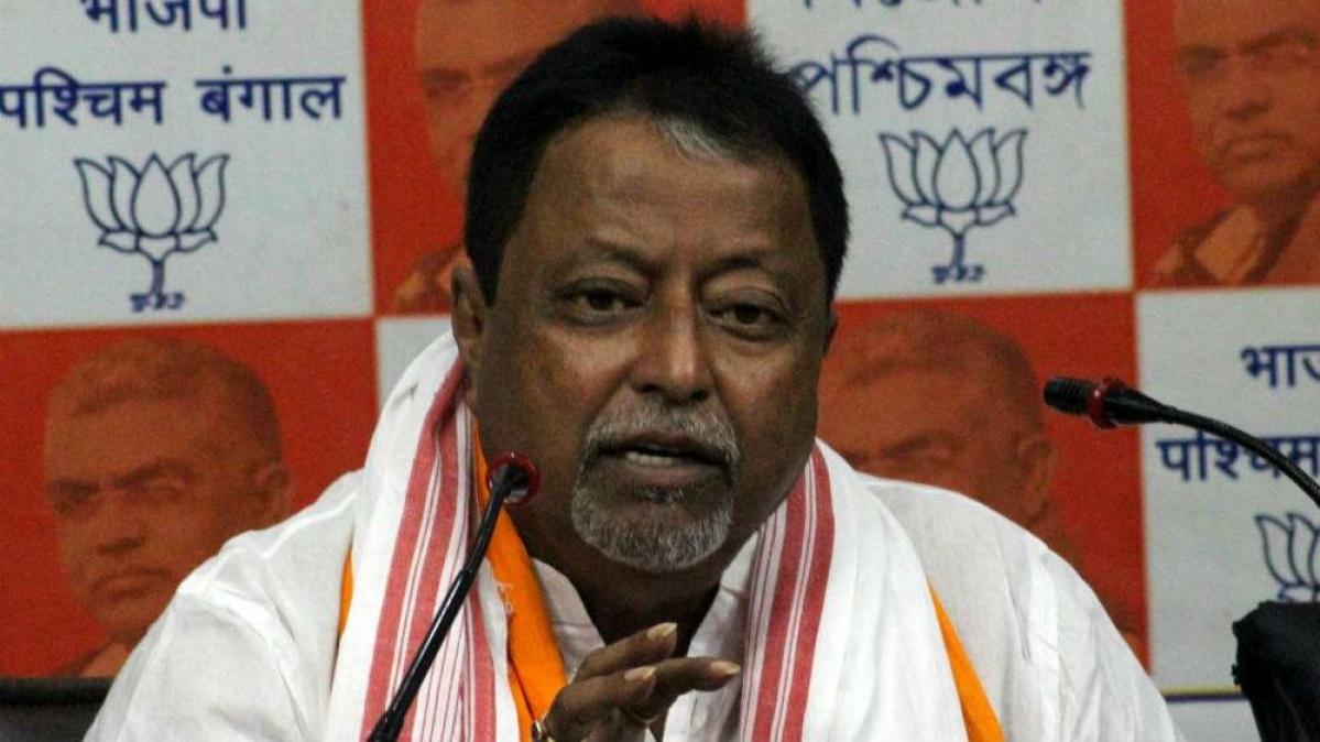 Former BJP national vice-president Mukul Roy