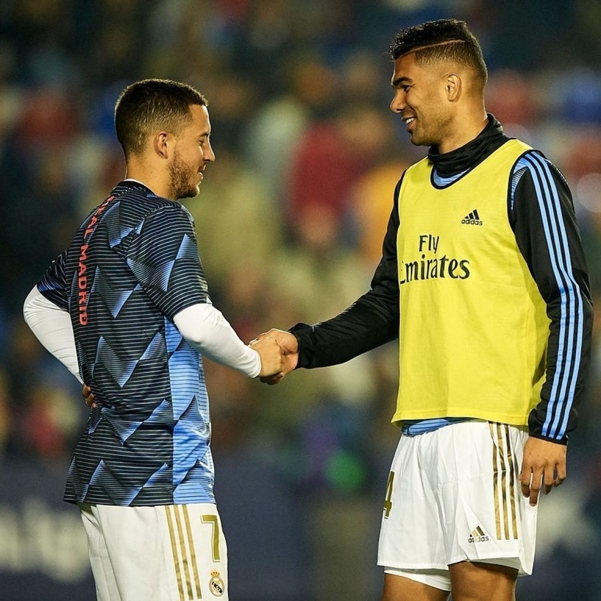 Real Madrid duo Hazard, Casemiro test positive for Covid-19