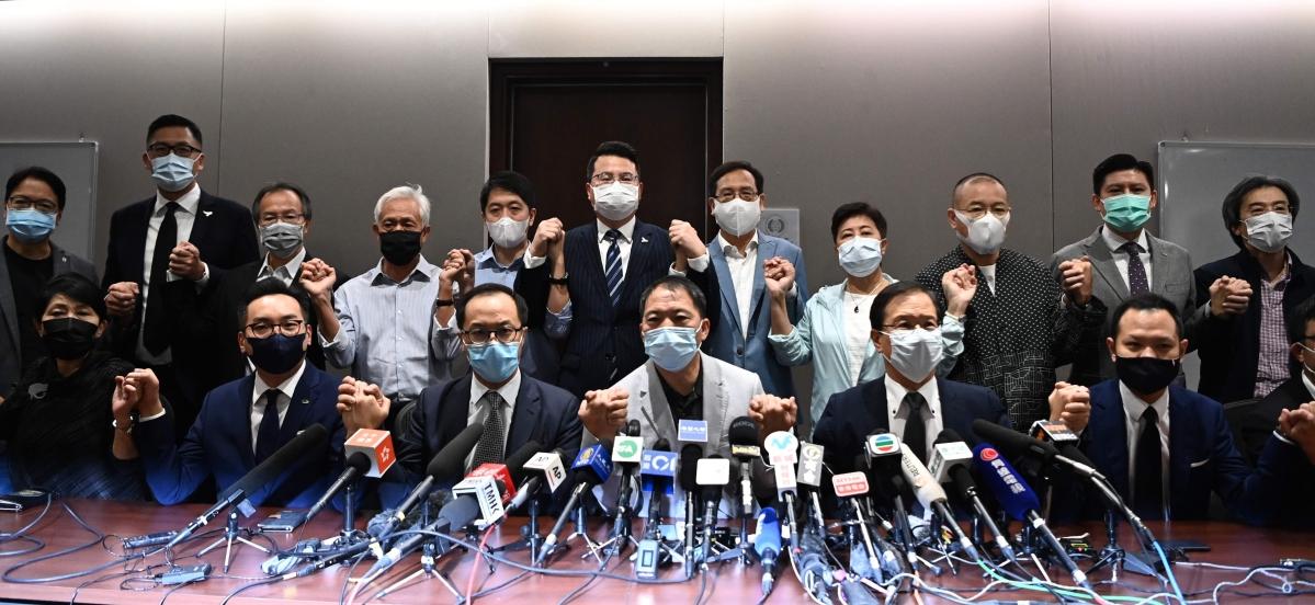 US condemns ousting of Hong Kong legislators over China resolution