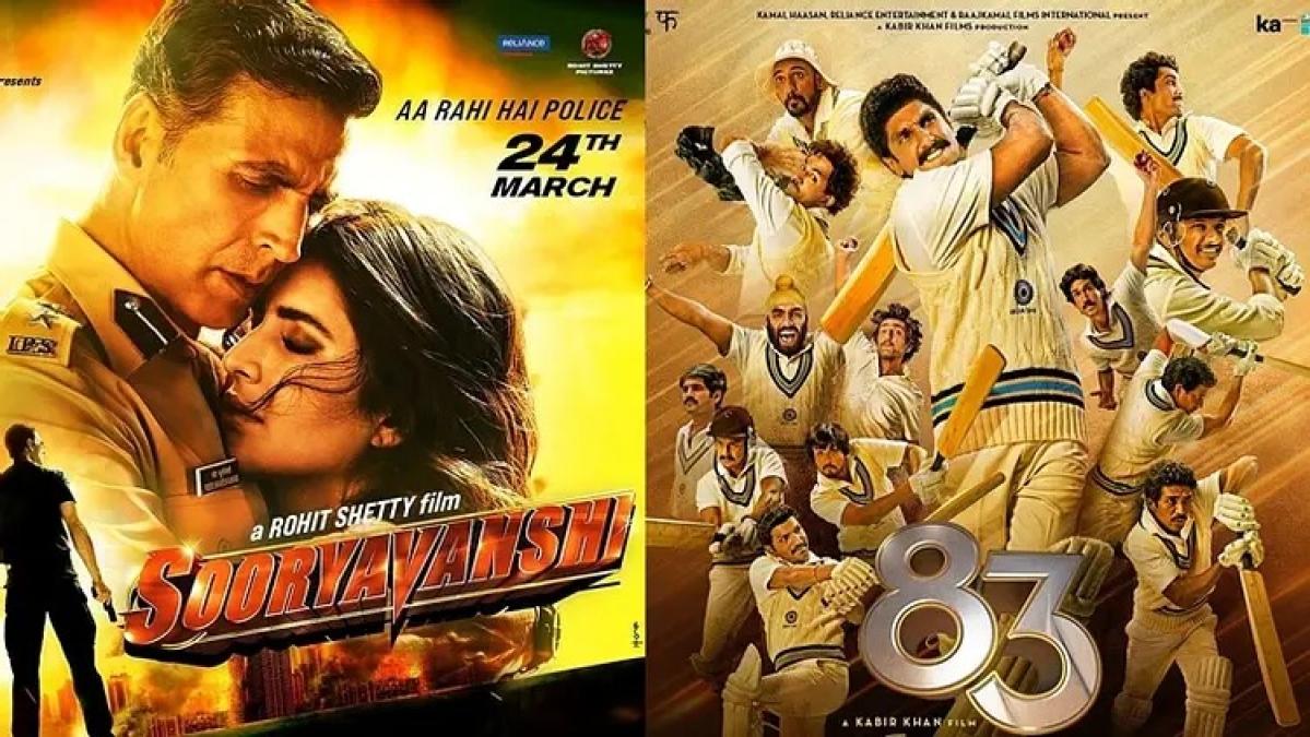 Akshay Kumar's 'Sooryavanshi', Ranveer Singh-starrer '83' to release in first quarter of 2021