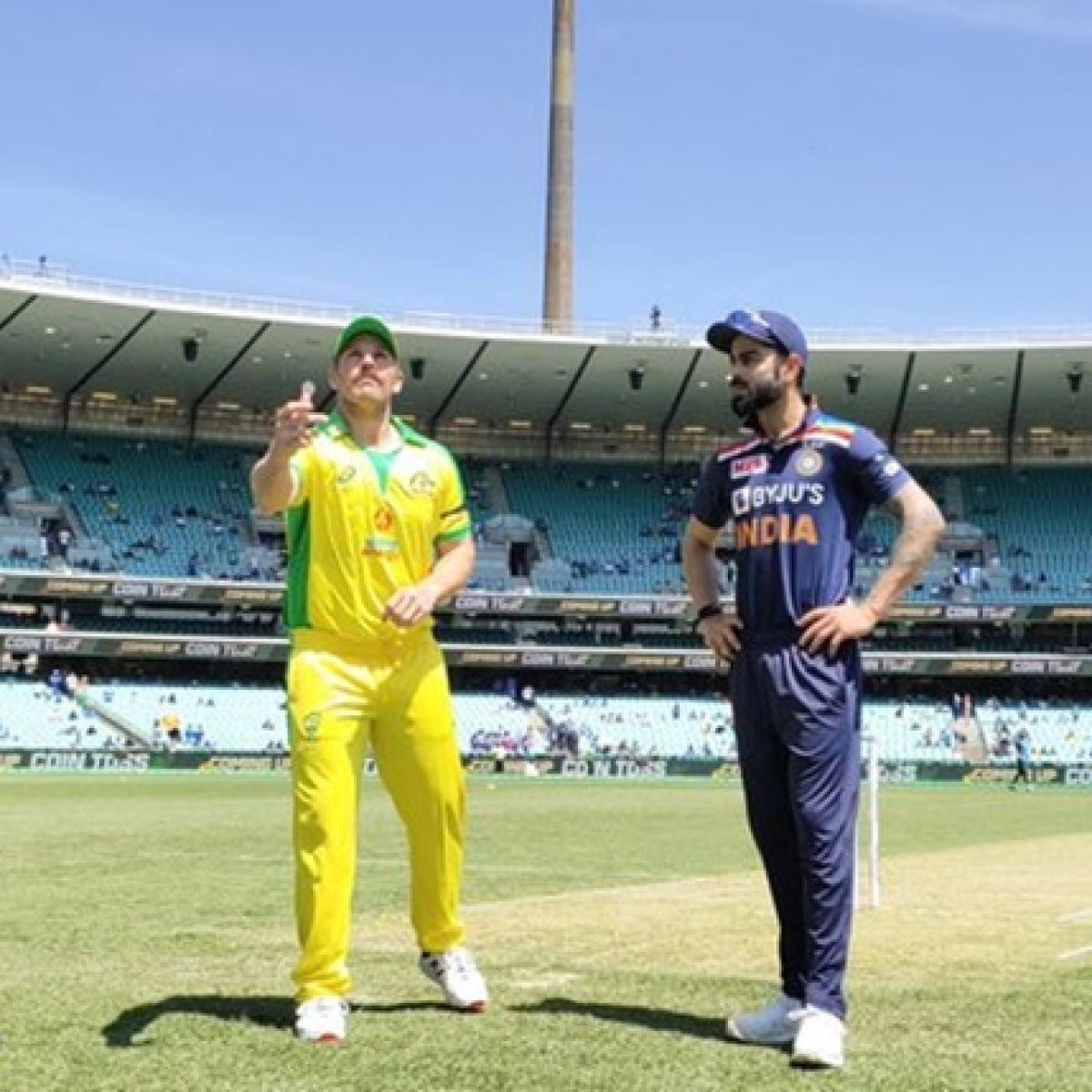 India vs Australia 1st ODI: Australia wins toss, opts to bat first against India at Sydney