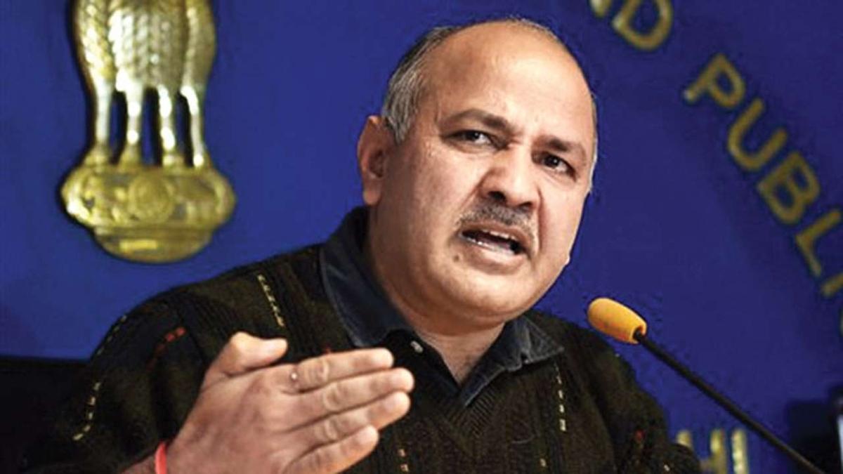 Delhi's Deputy Chief Minister Manish Sisodia