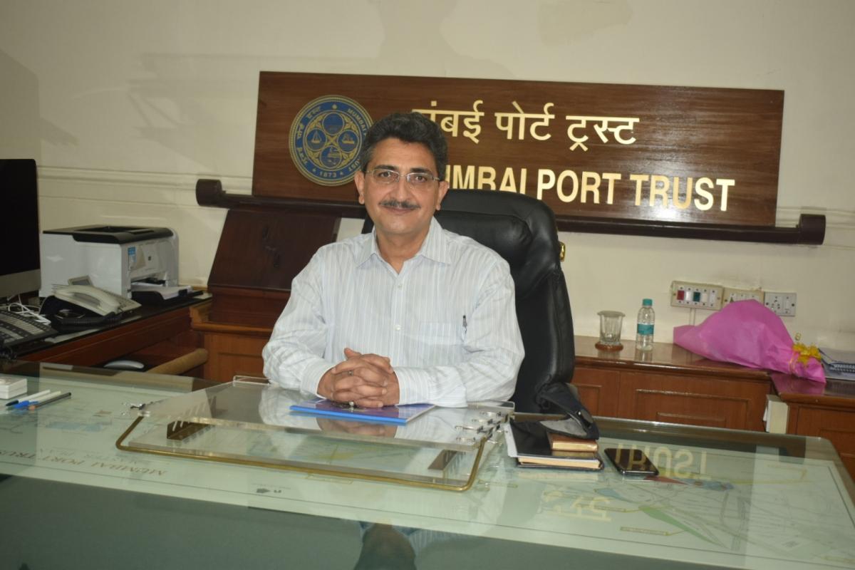 Rajiv Jalota takes charge as Chairman, Mumbai Port Trust