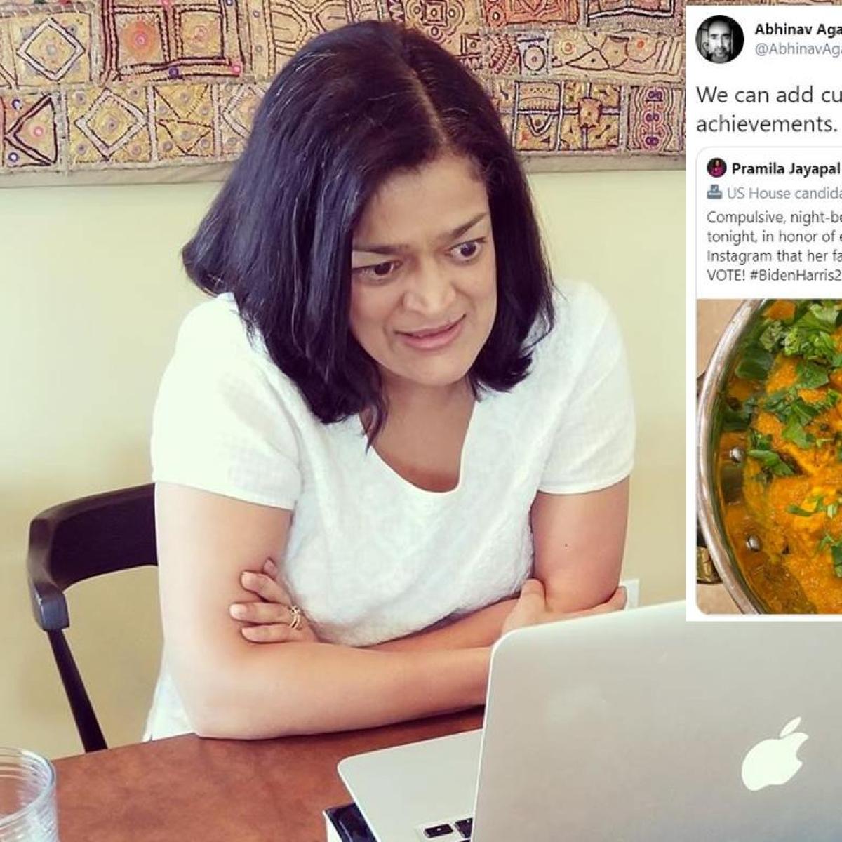 'They eat Indian like we eat Chinese': Desi Twitter opens fire at Pramila Jayapal's paneer tikka