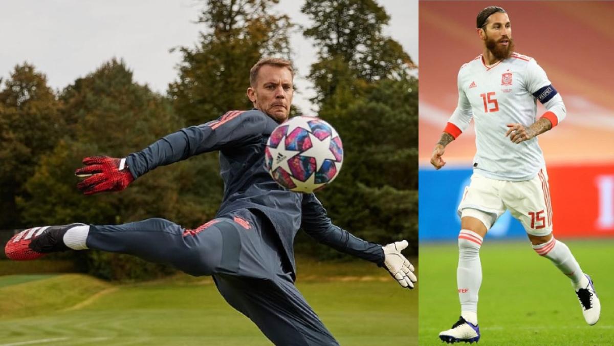 Manuel Neuer (L), Sergio Ramos (R)