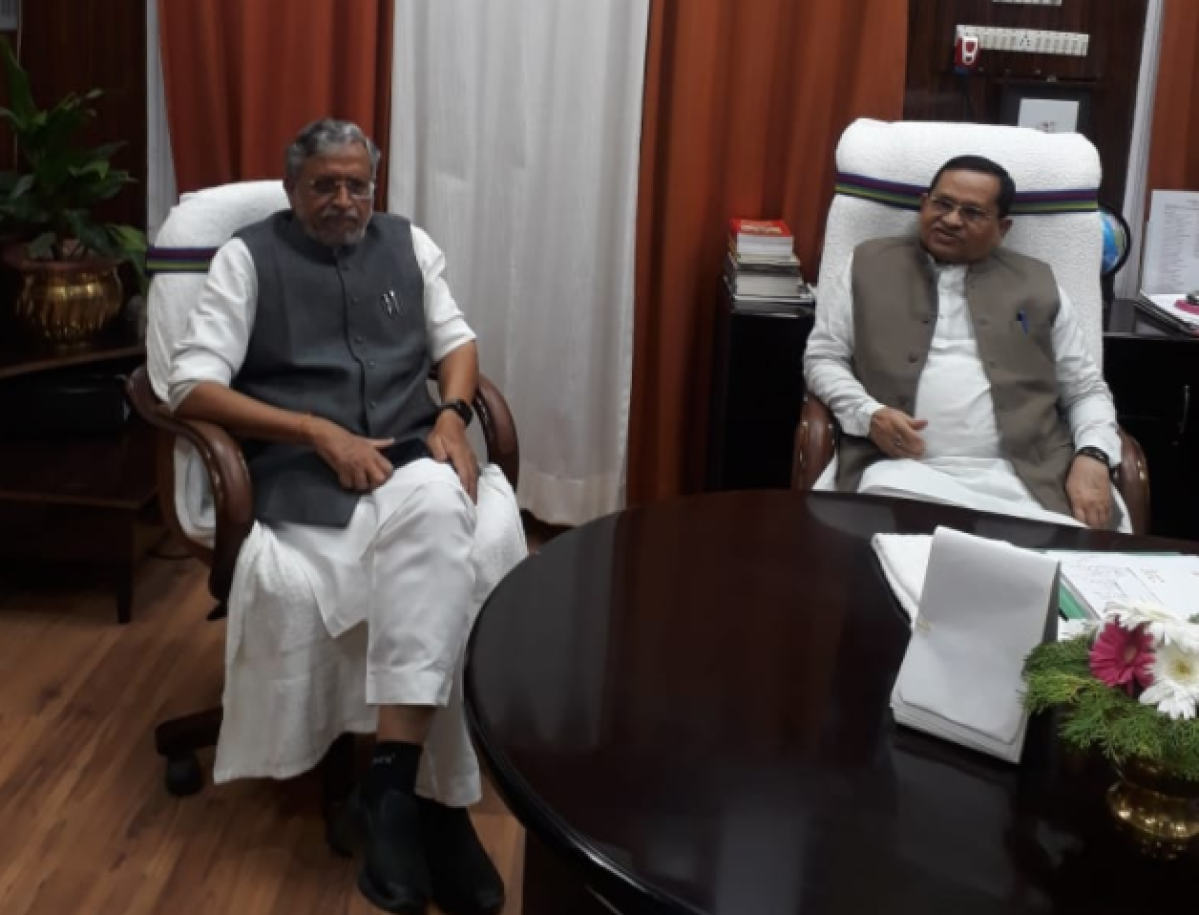 Sushil Modi named Legislative Council Ethics Committee Chairman