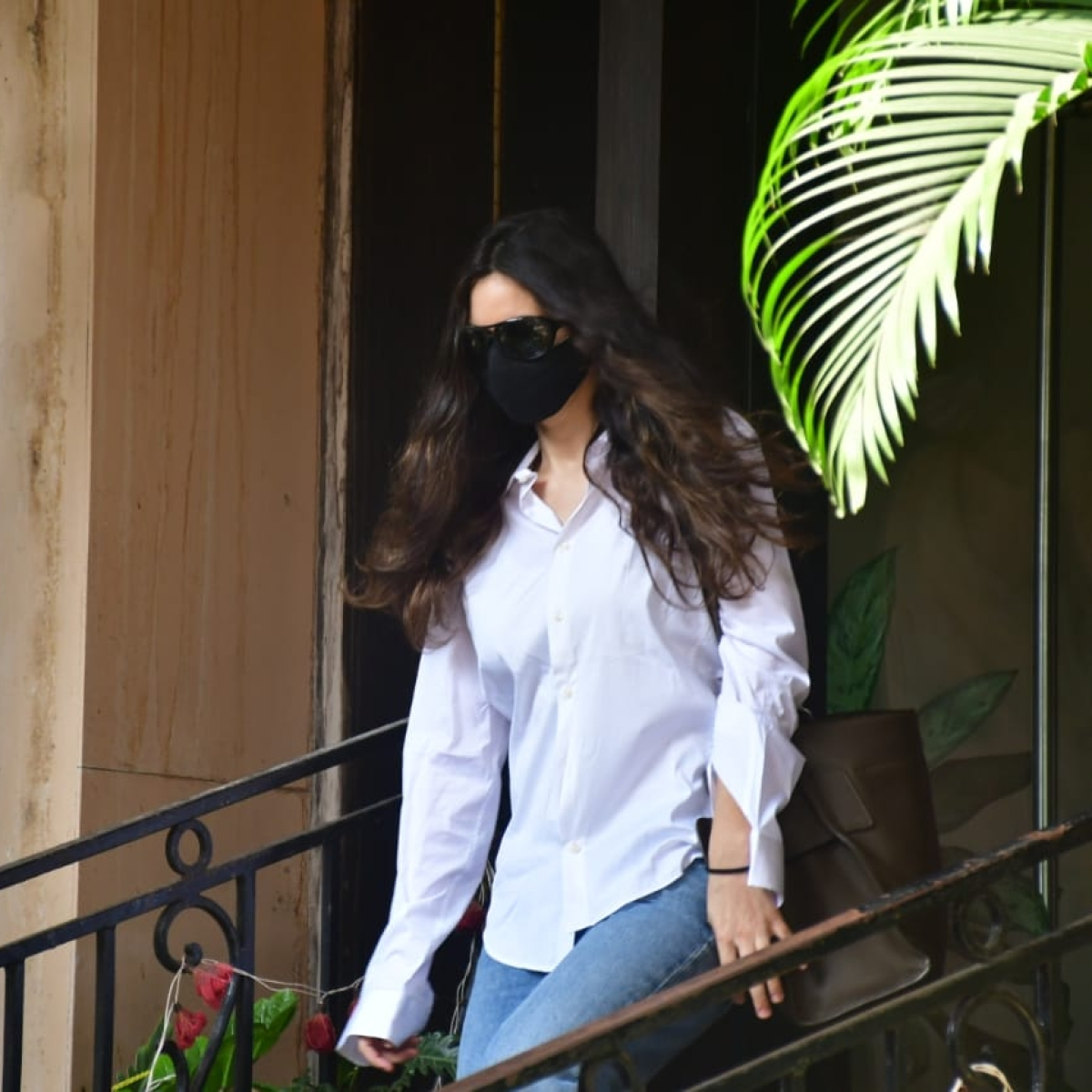 In pics: Arjun Rampal's girlfriend Gabriella Demetriades arrives at NCB office after being summoned in drugs case