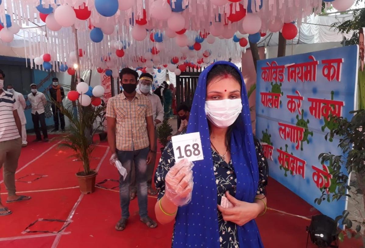 Madhya Pradesh: Bye-elections underway, around 42.71 percent voter turnout till 1 pm