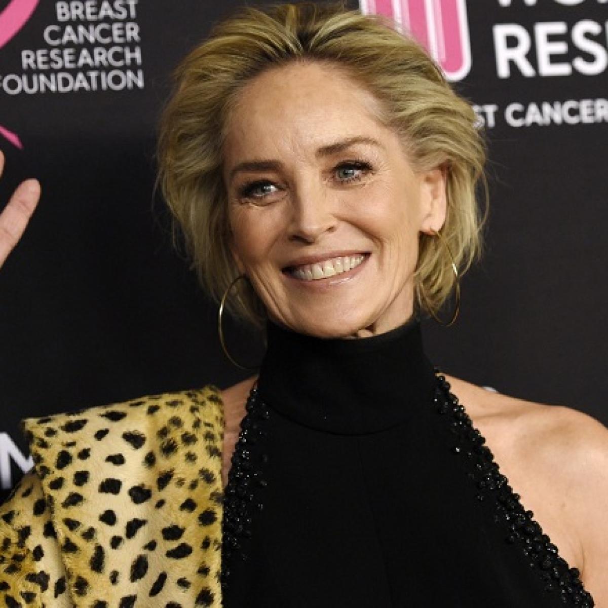 Sharon Stone's unwind therapy: Good bath, yoga, colouring books