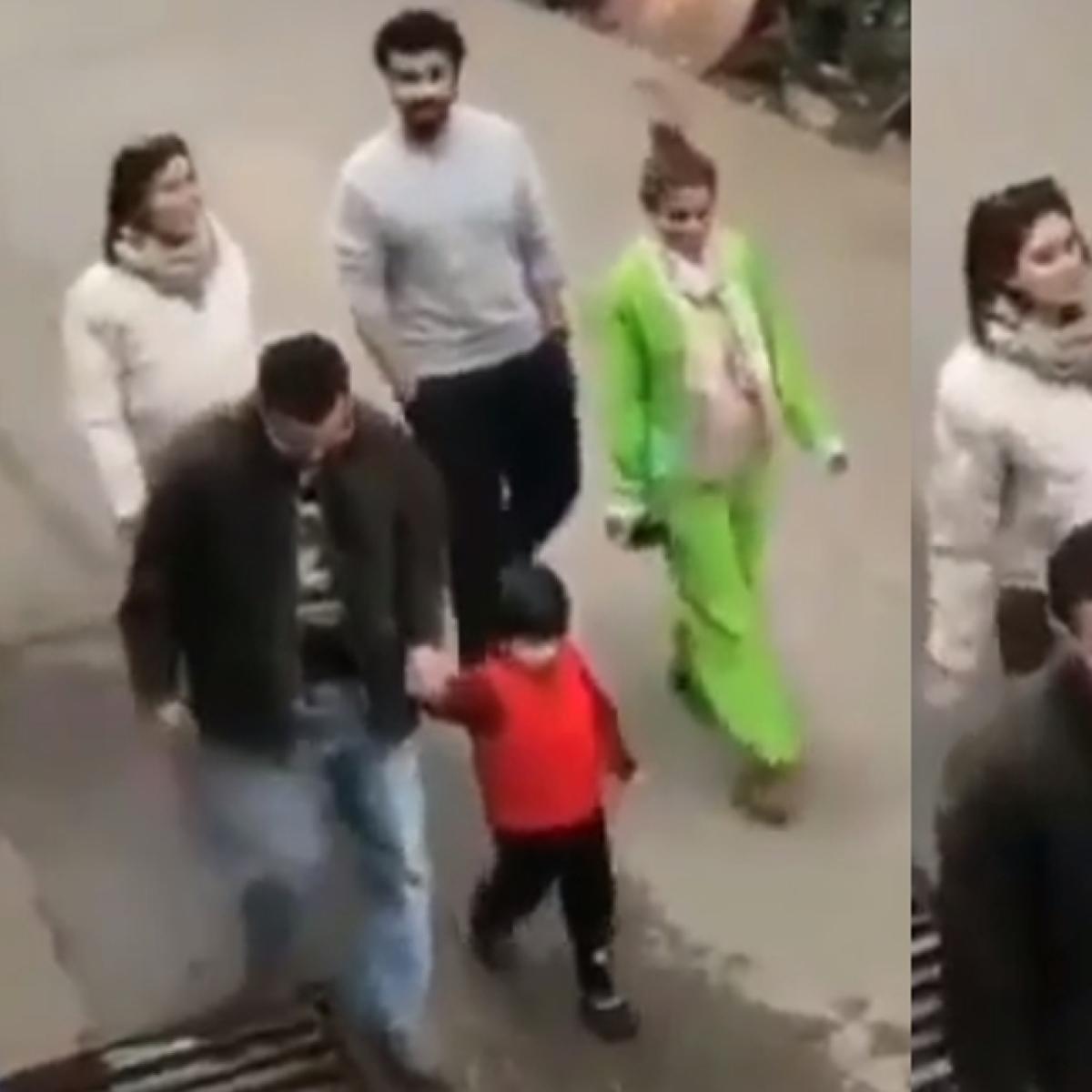 Watch: Taimur screams 'No Photo' as he strolls in Dharamshala with folks Saif and Kareena