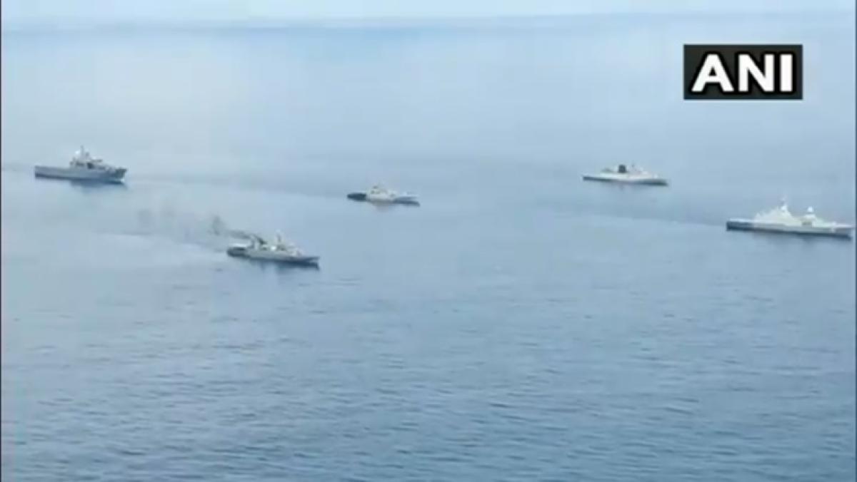SITMEX 2020: India, Singapore, Thailand naval exercise begins in Andaman Sea