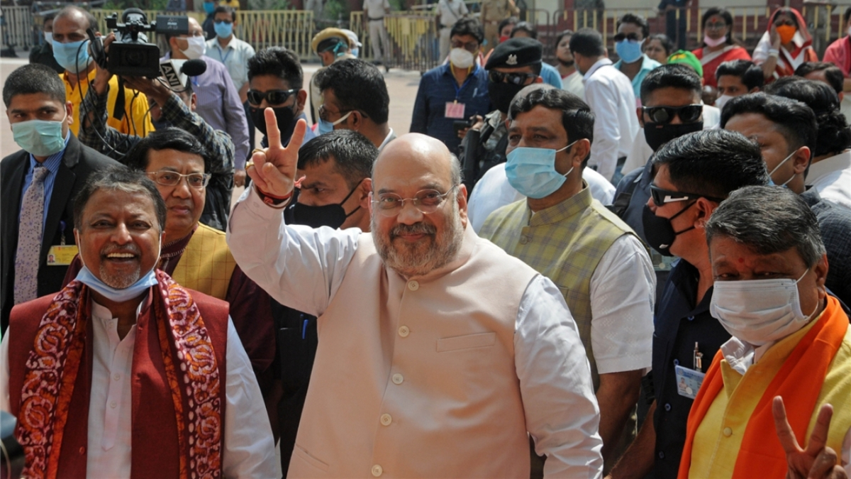 Target TMC, not just Mamata: Amit Shah's edict to Bengal BJP on Day 2 of visit