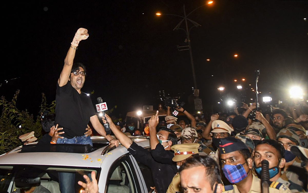Arnab Goswami files for pre-arrest bail in case of obstructing cops on day of arrest