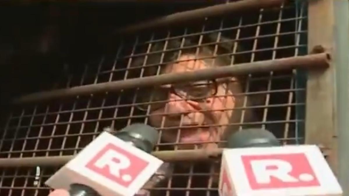 Arnab Goswami being shifted to Taloja Jail in Navi Mumbai