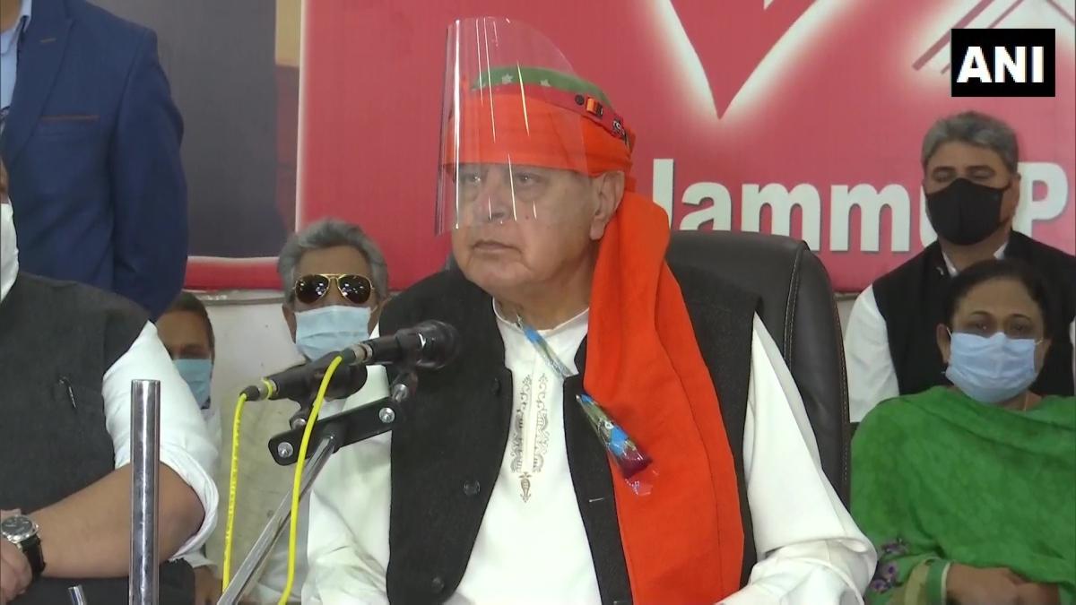 'Our nation is Mahatma Gandhi's India. Not BJP's India': JKNC chief Farooq Abdullah