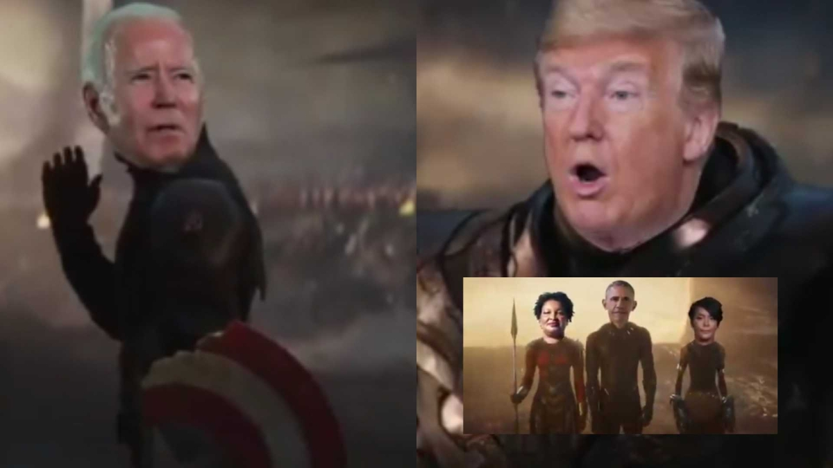Biden as Captain America, Trump as Thanos: Watch this epic 'Avengers' video based on US election