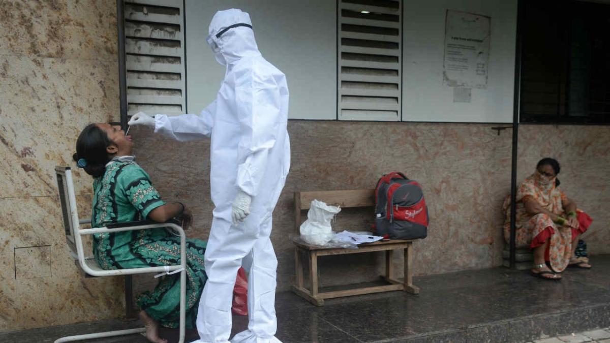 COVID-19 testing in Mumbai | Representational image