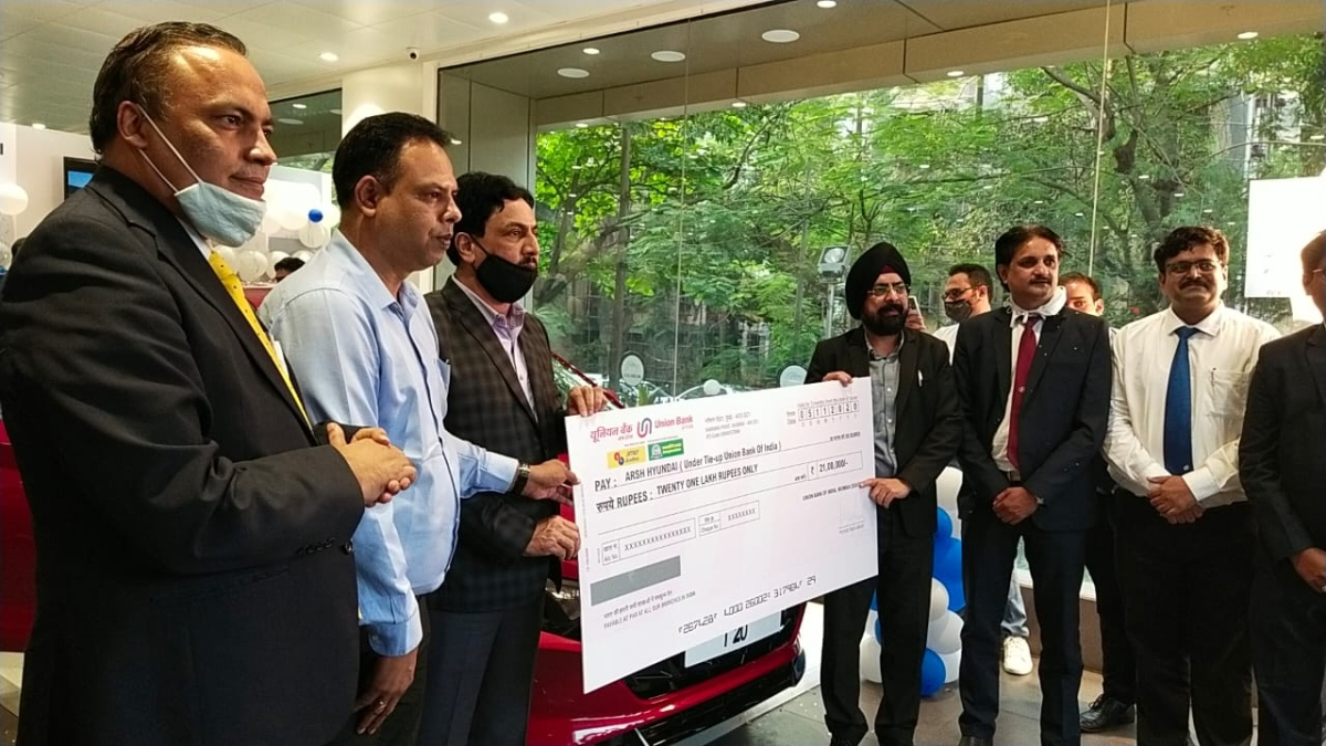 Union Bank of India, Arsh Hyundai announce tie-up for car loans