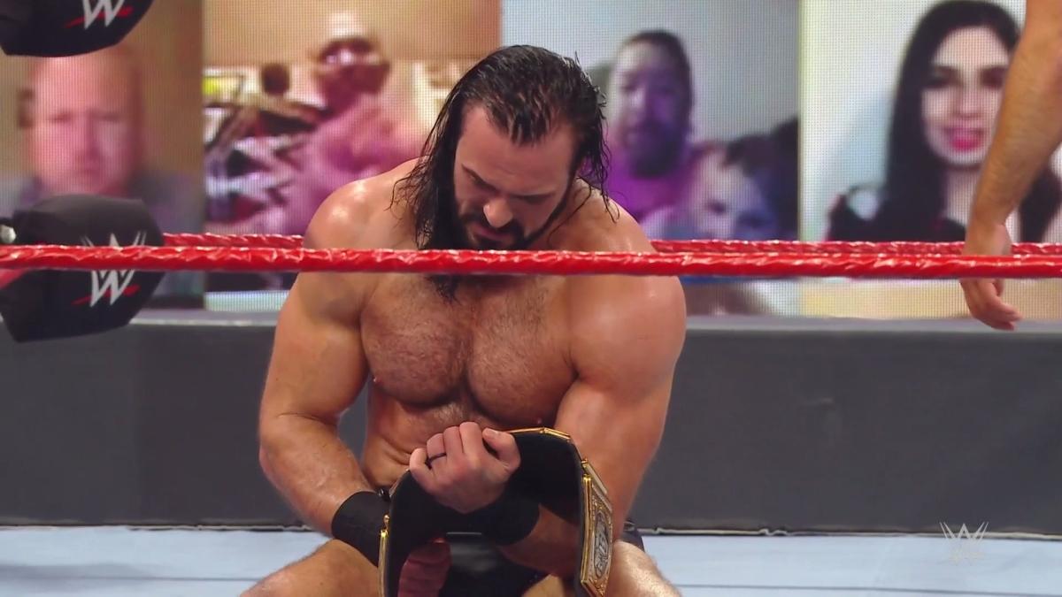 Monday Night Raw: Drew McIntyre defeats Randy Orton to reclaim WWE Championship