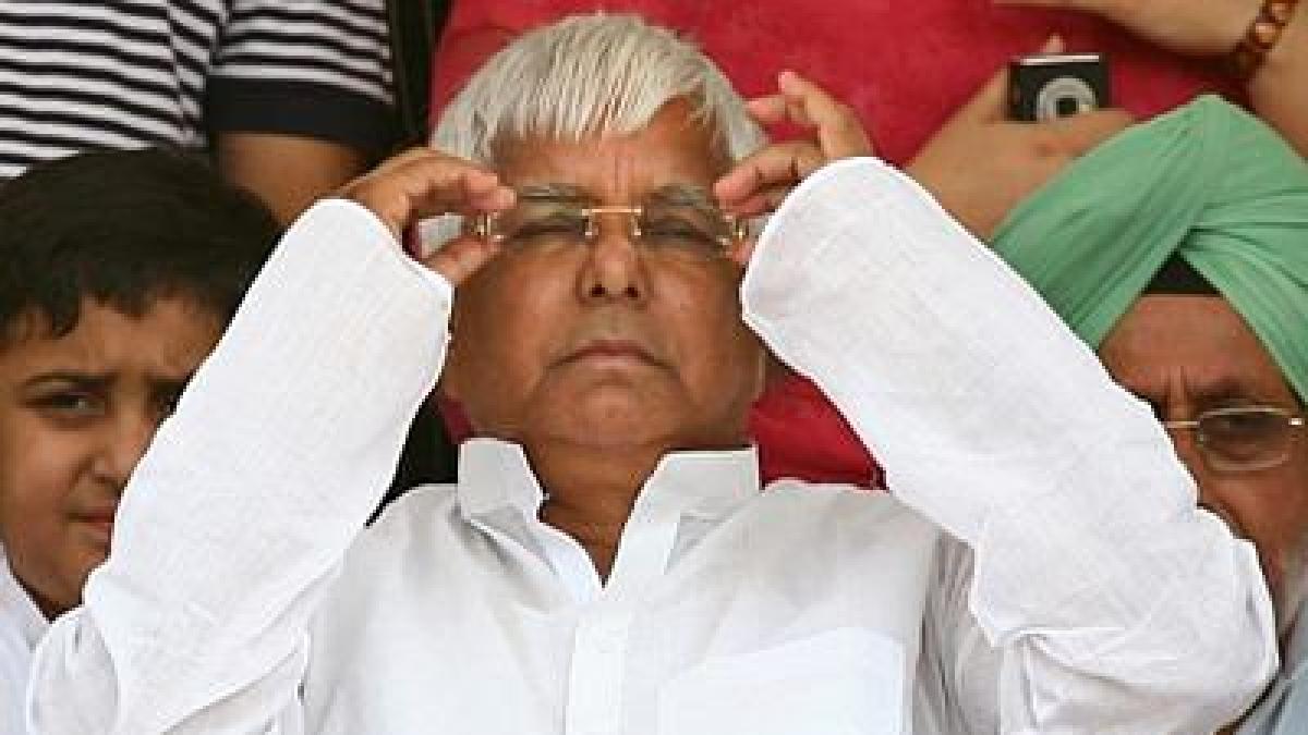 Rashtriya Janata Dal (RJD) supremo Lalu Prasad Yadav