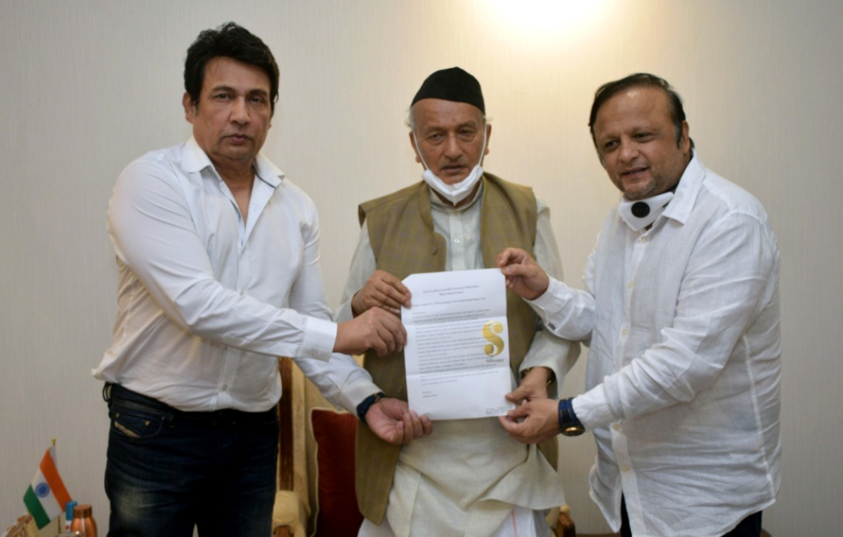 Shekhar Suman meets Maharashtra Governer Bhagat Singh Koshayari, demand CBI inquiry in Sushant Singh Rajput case