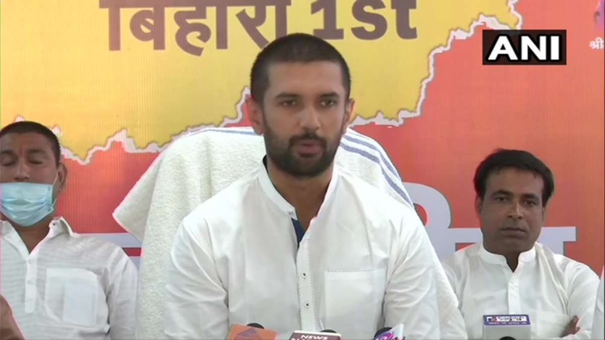 Will never support Nitish Kumar, but will continue supporting PM Modi at Centre: Chirag Paswan