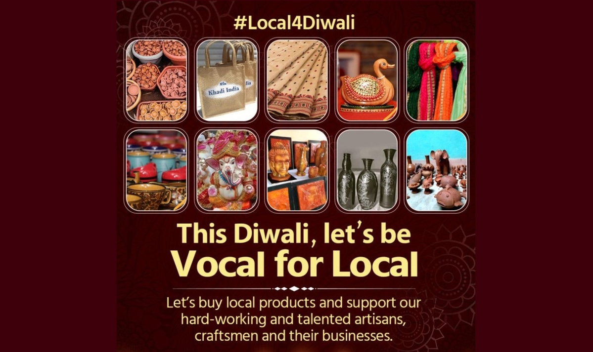 Bhopal: MP Handlooms and Handicrafts Dev Corp launches campaign '#Local4Diwali' promoting local artisan's work