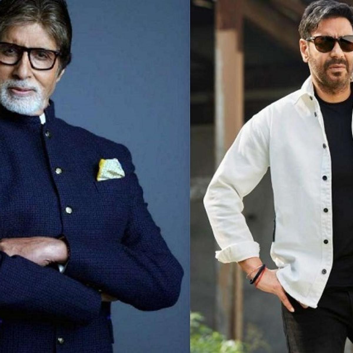 Ajay Devgn to direct Amitabh Bachchan in 'Mayday'