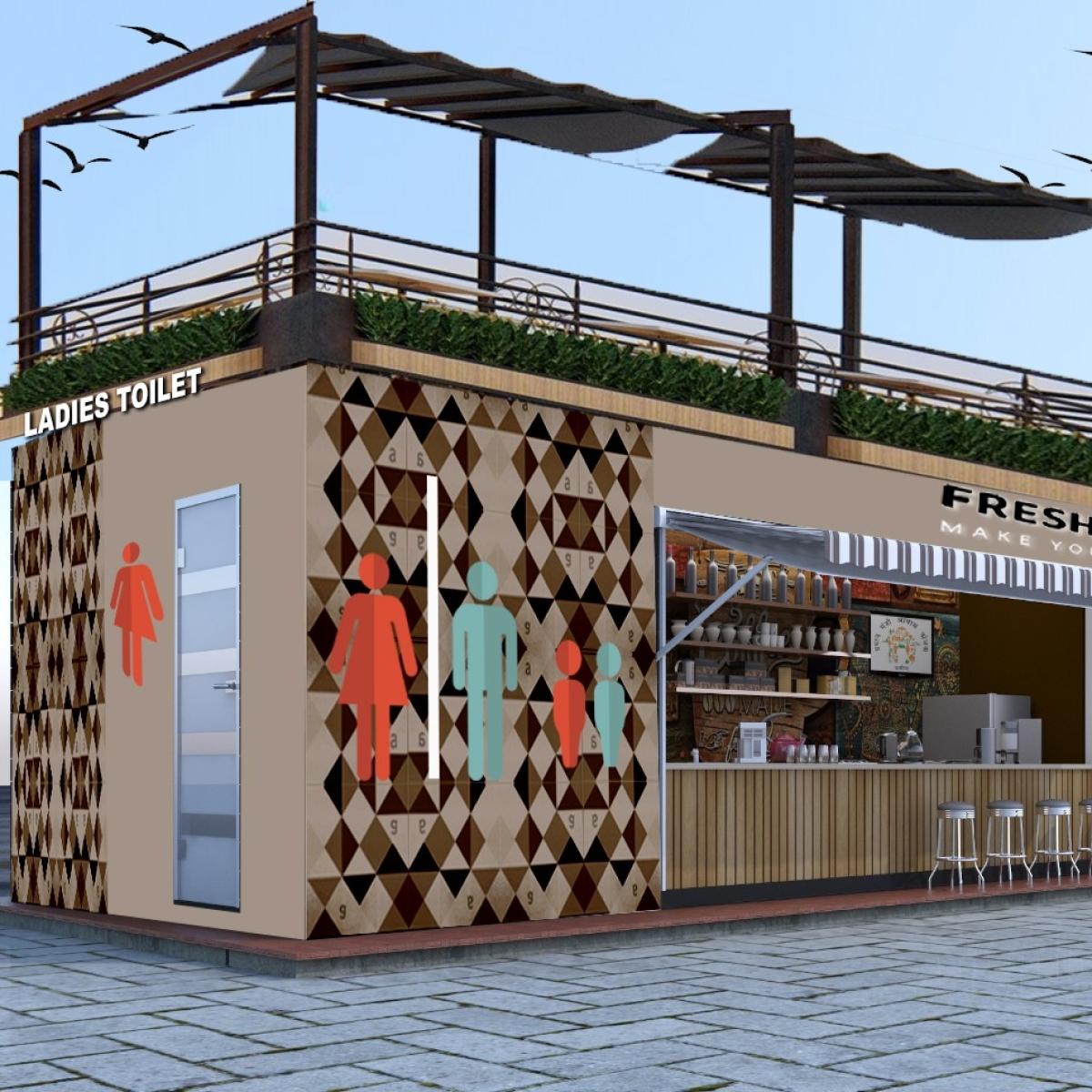 Ujjain to have 5 smart toilets-cum-café