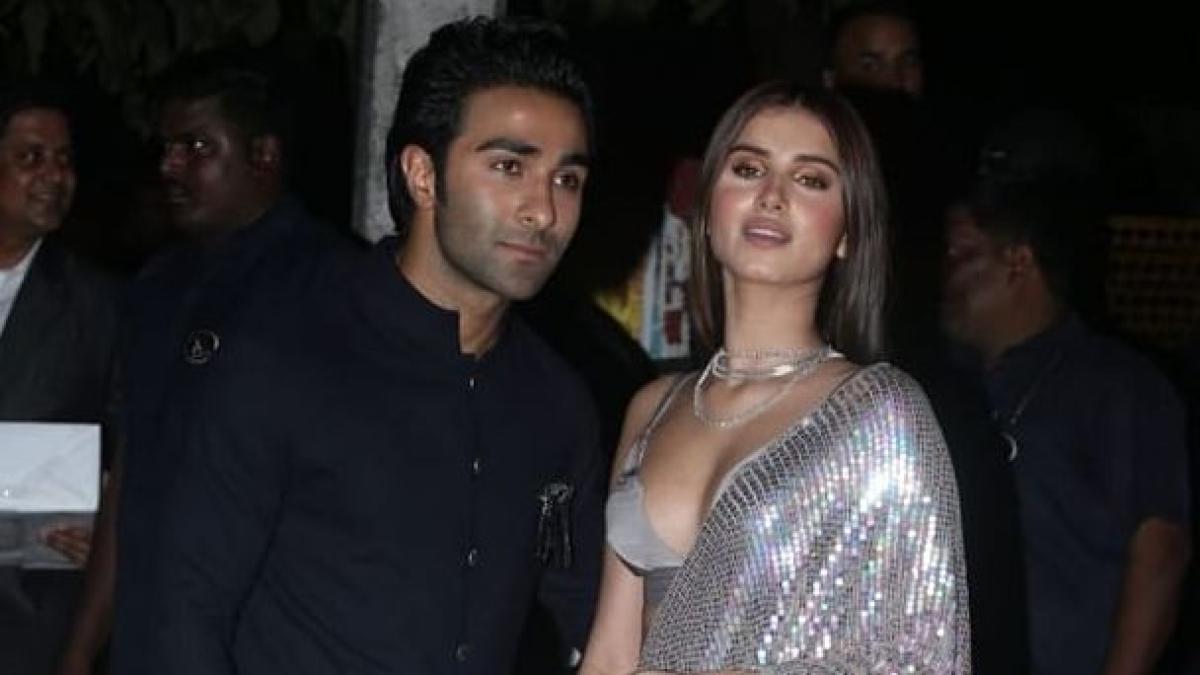 File photo of Aadar Jain and Tara Sutaria