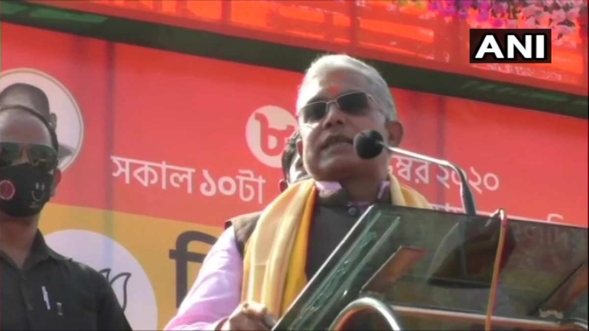 'Hands, legs, ribs, heads — all will be broken': BJP's Dilip Ghosh threatens 'mischievous' TMC workers