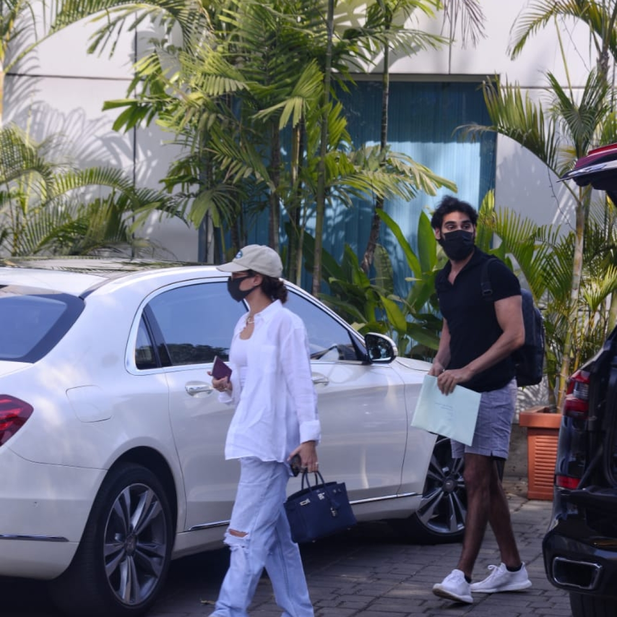 In Pics: Ahan Shetty jets off with rumoured girlfriend Tania Shroff