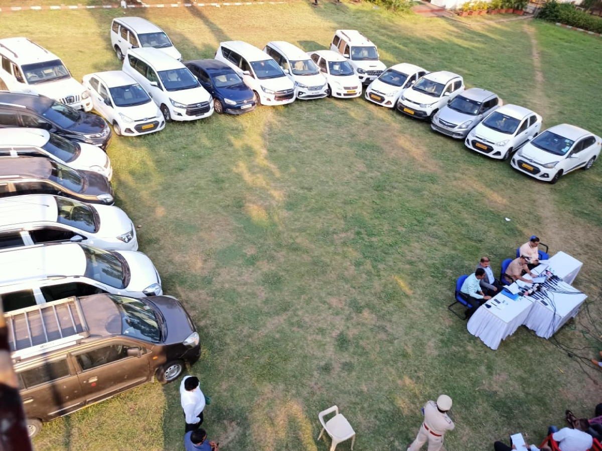 Navi Mumbai Crime Branch busts tours and travel racket, recover vehicles worth Rs 2 cr