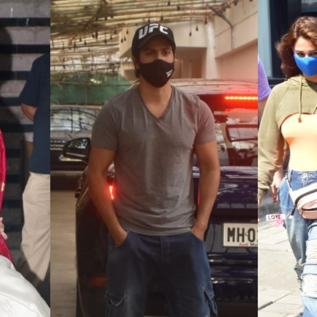 In Pics: Kareena Kapoor Khan, Disha Patani, Tiger Shroff, Varun Dhawan and others spotted in Mumbai