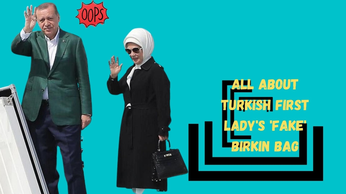 Amid boycott of French products, Turkish first lady's 'fake' French bag draws flak