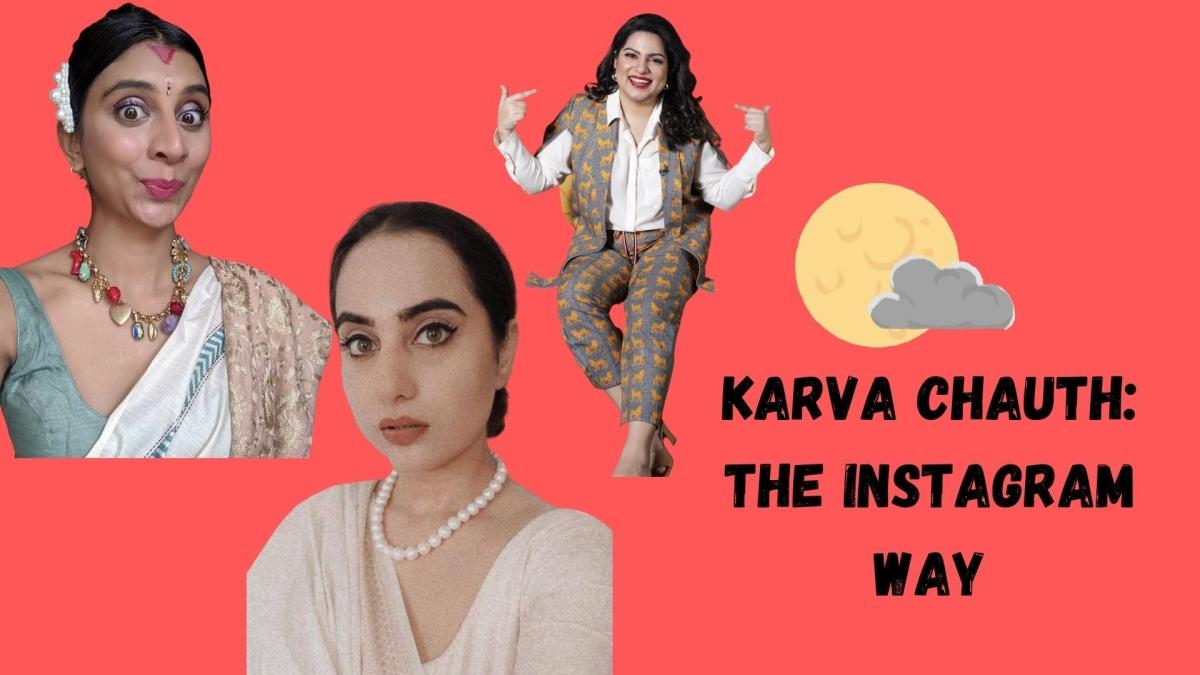 Celebrating Karva Chauth the influencer way
