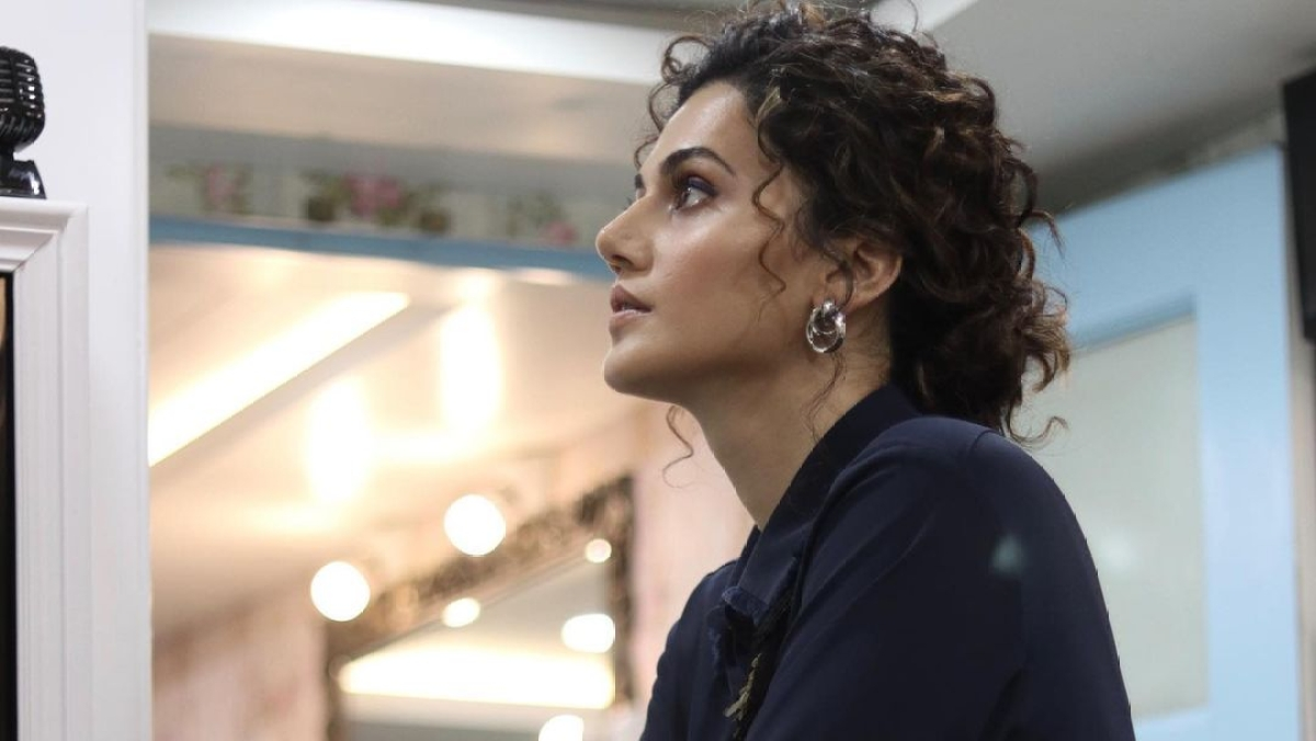 'I was replaced because hero's wife didn't want me in the film', says Taapsee Pannu
