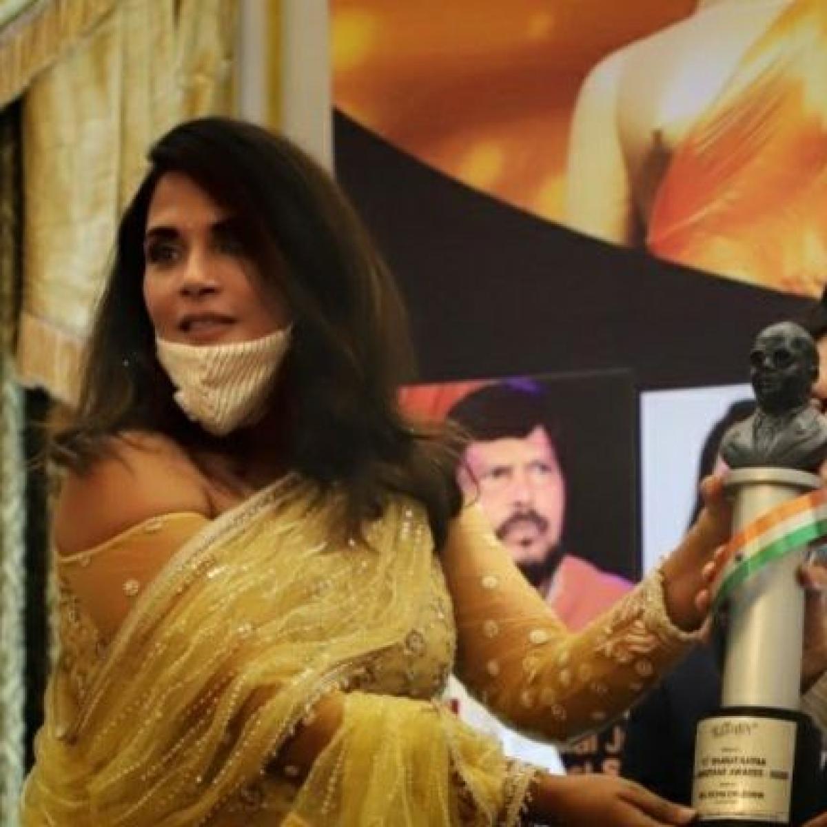 'Woke up late to the greatness of Babasaheb': Richa Chadha receives Bharat Ratna Dr Ambedkar Award