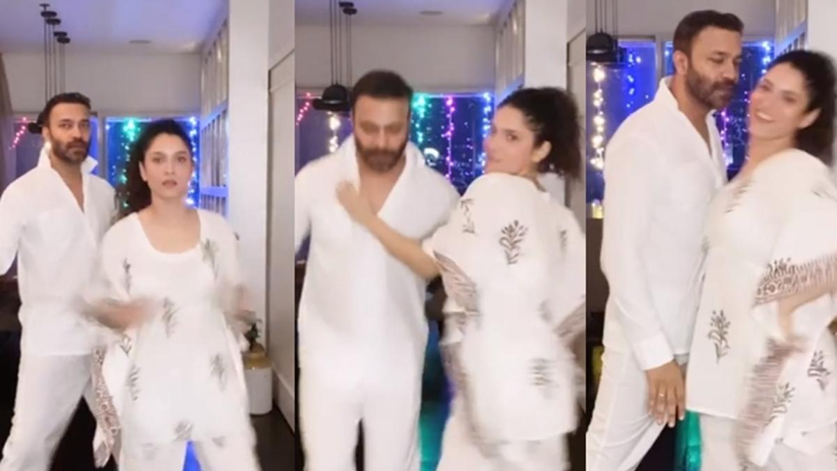 'Ye umid nai thi': SSR fans troll Ankita Lokhande dancing in 'night dress' with beau Vicky Jain, watch video