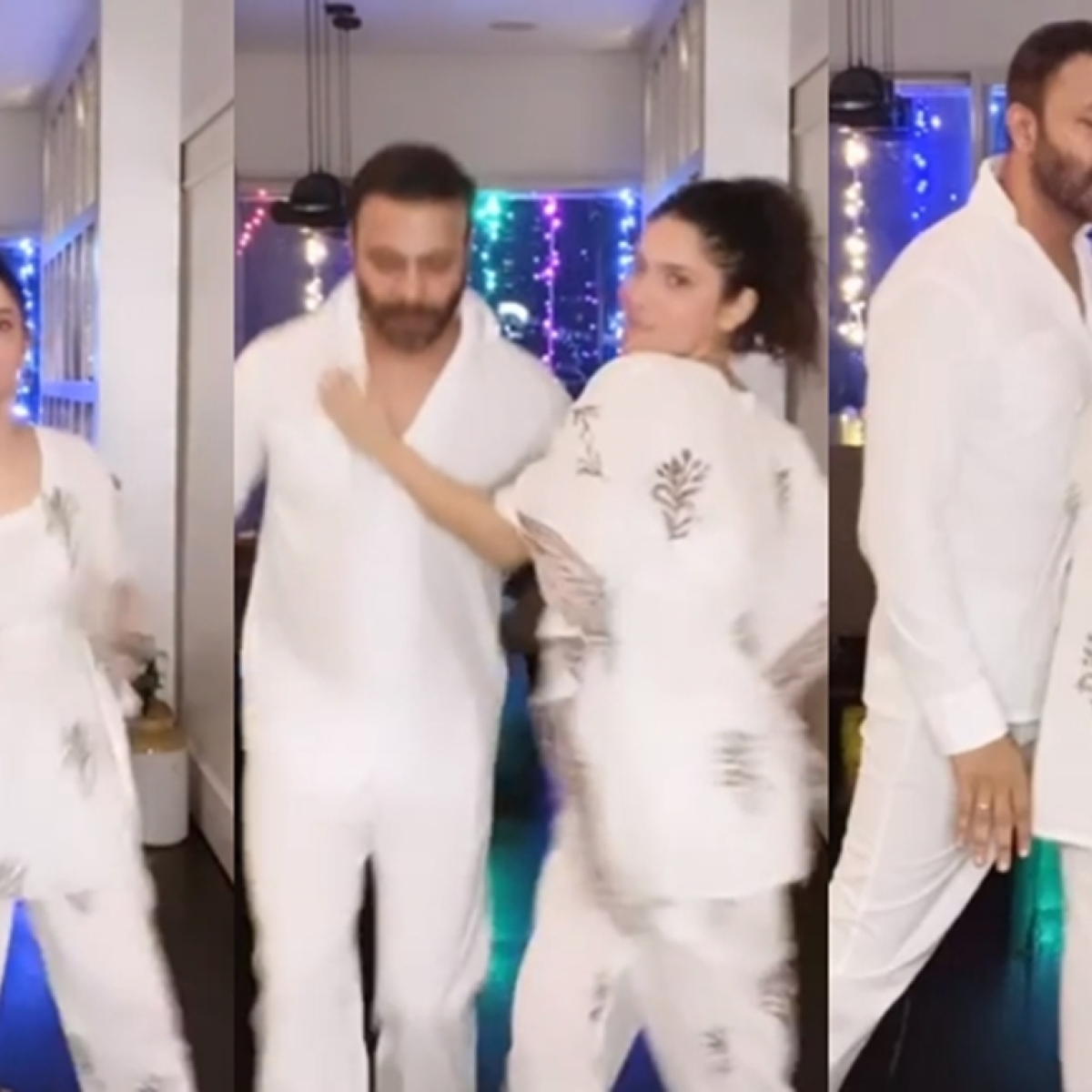 'Ye umid nai thi': SSR fans troll Ankita Lokhande dancing in 'night dress' with beau Vicky Jain, watch video