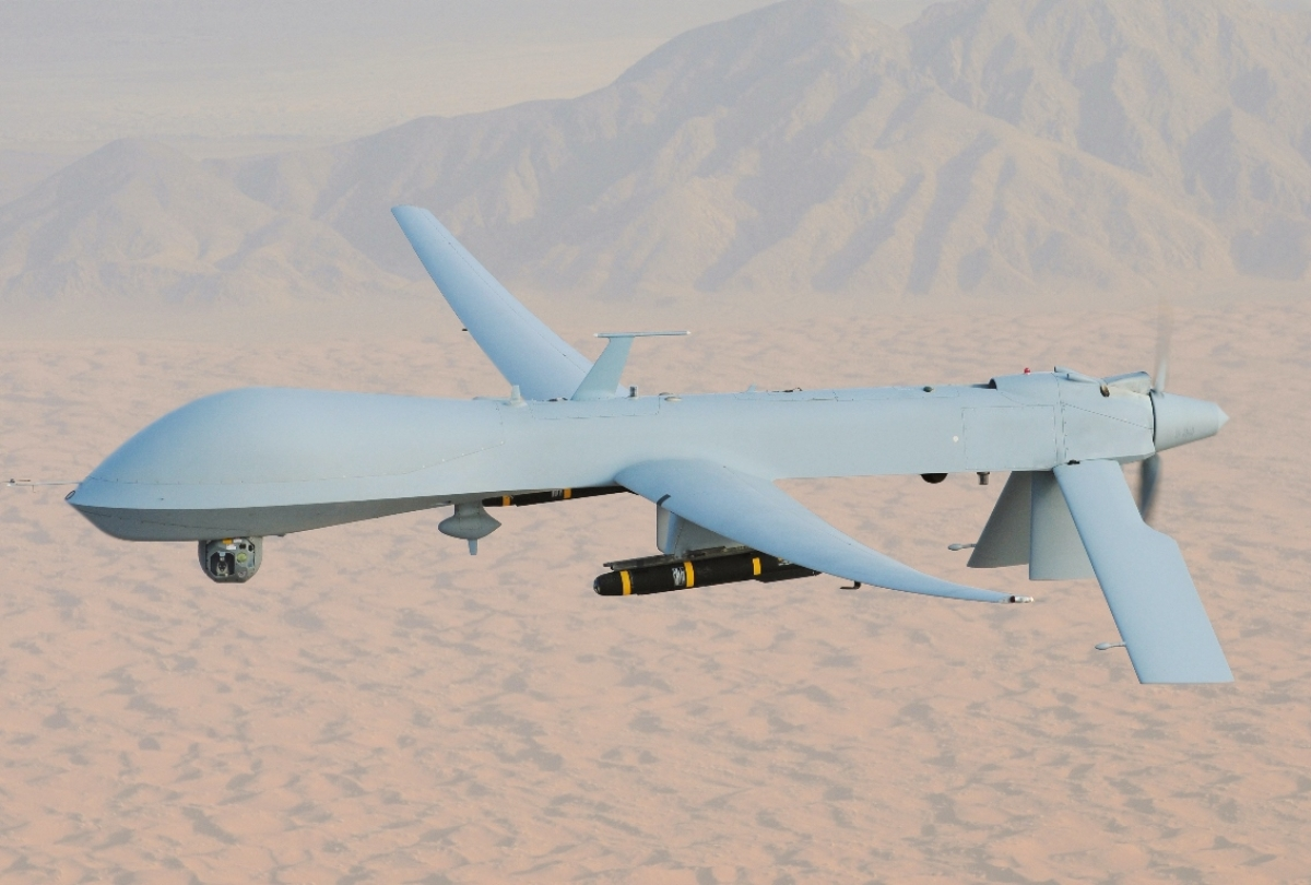Indian Navy leases two US Predator drones; they can be deployed on China border