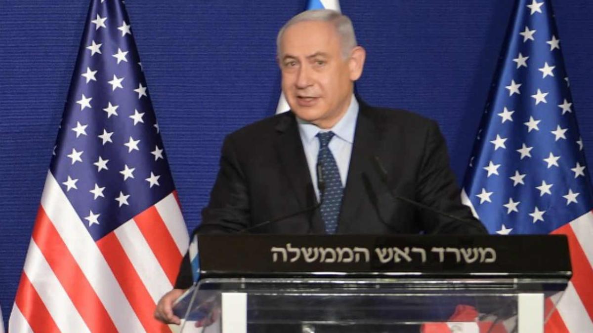 Netanyahu was accompanied by the head of Israel's Mossad intelligence agency