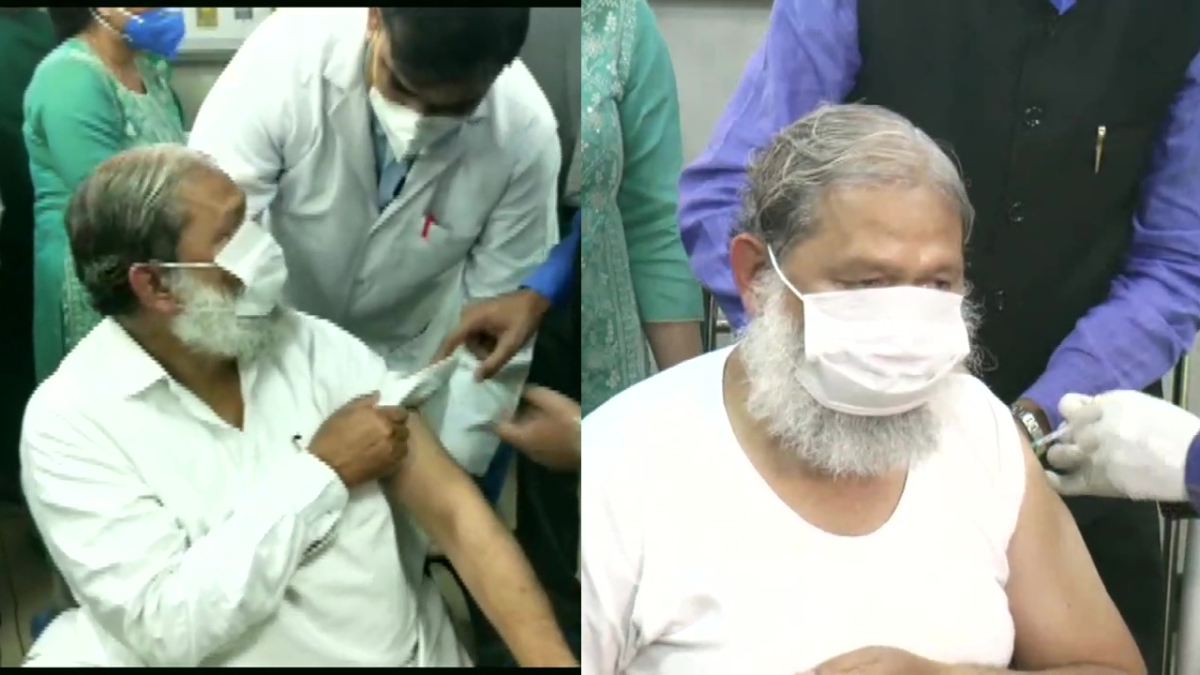 Haryana Health Minister Anil Vij gets trial dose of 'Covaxin', India's indigenous COVID-19 vaccine